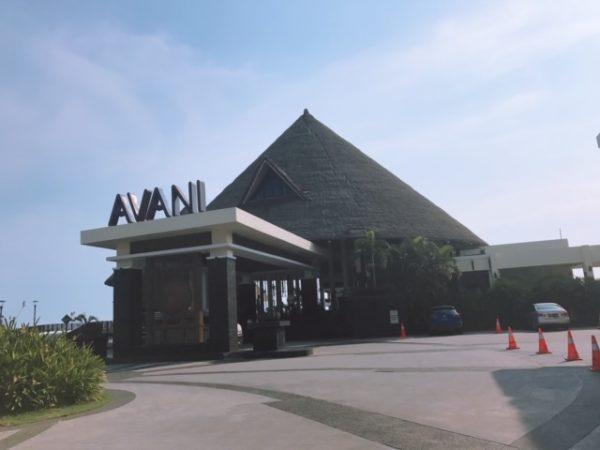 アヴァニ・セパン・ゴールドコーストリゾートレセプション