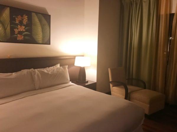 マレーシア 水上コテージベッドルーム2