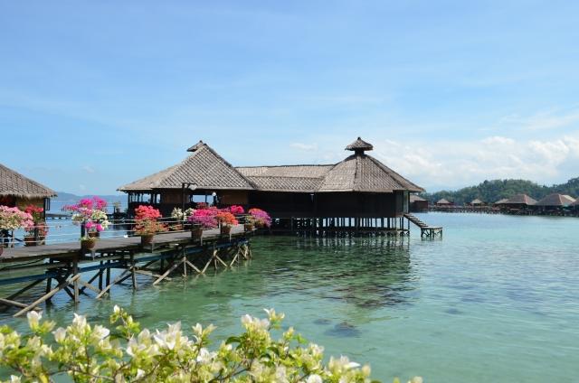 マレーシア水上コテージ