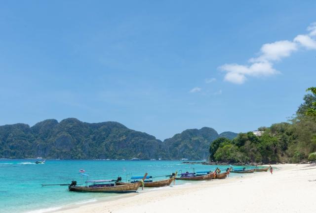 タイ クラビ 晴天
