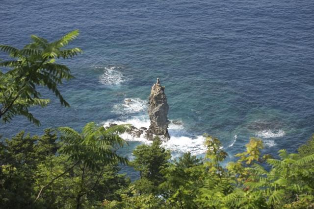 隠岐島 ローソク島