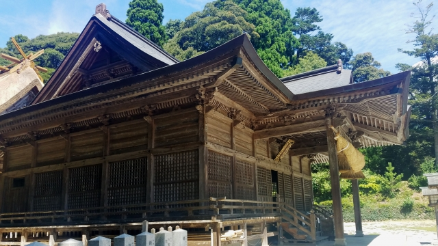 隠岐島 玉若酢命神社