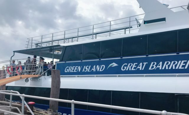 グレートバリアリーフ 高速船