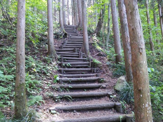 秋保大滝に行く道