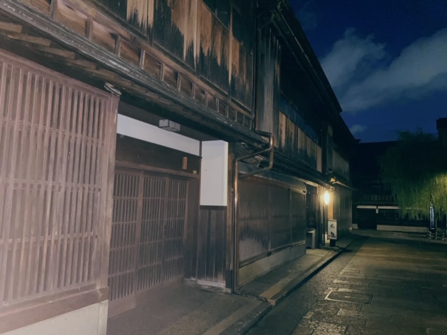 ひがし茶屋街夜景4