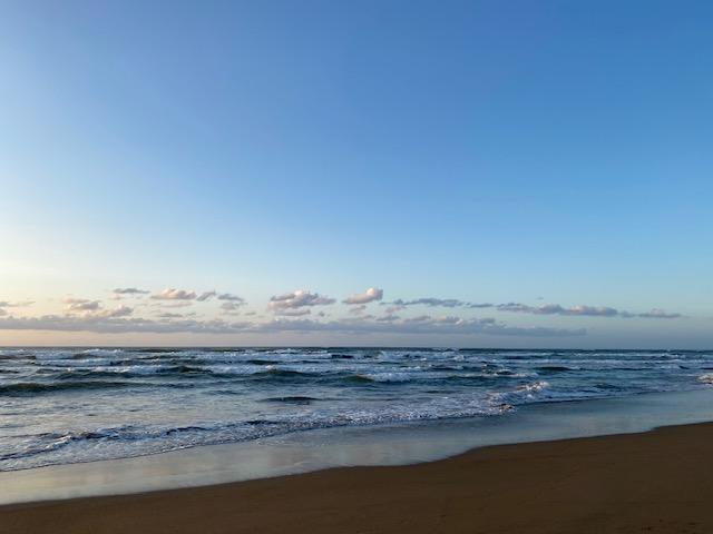 内灘海岸波