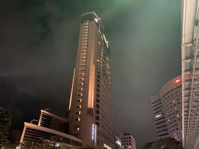 夜のホテル日航金沢