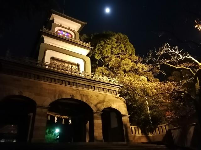 尾山神社ライトアップ2