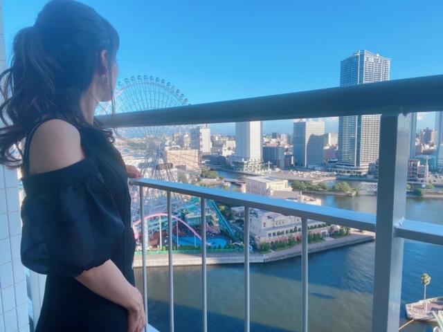 横浜ホテルバルコニー日中