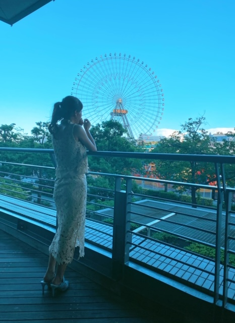 横浜ホテル周辺カフェから見える景色2