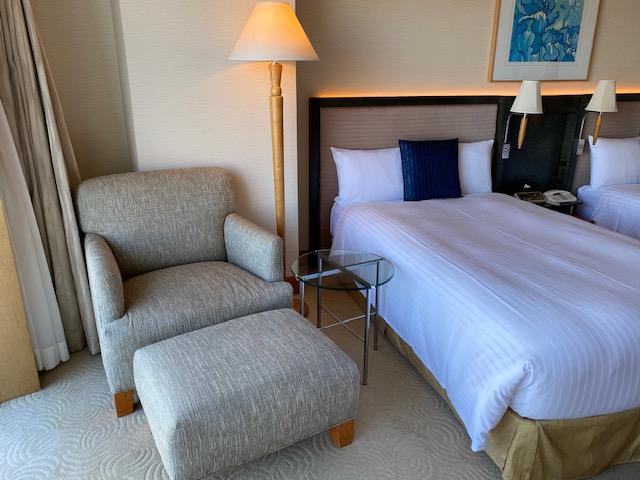 横浜ホテル客室ソファー