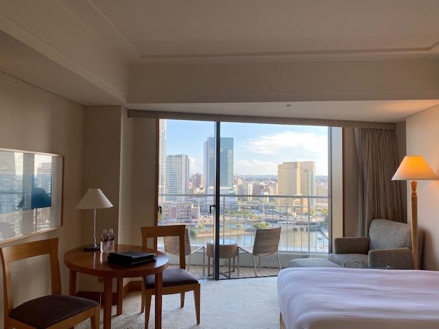 横浜ホテル客室全体