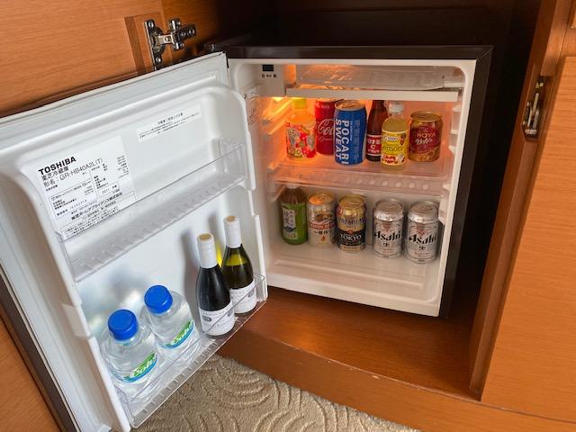 横浜ホテル客室冷蔵庫