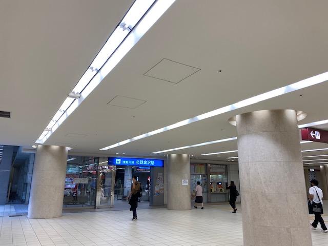 金沢駅東口地下