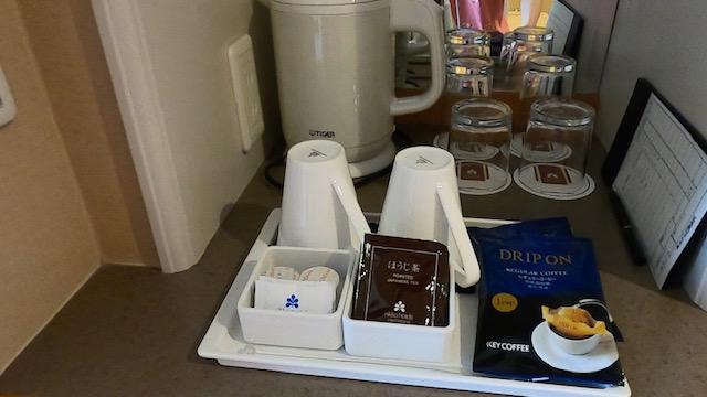 ホテル日航金沢コーヒー関連
