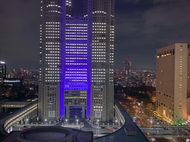 京王プラザホテル都庁view