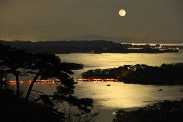 pixta_松島満月