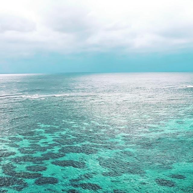 イムギャーマリンガーデン 展望台から見た海