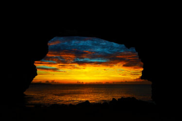 pixta_砂山ビーチ絶景の夕日