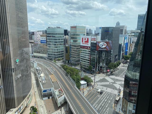 ゲートホテル東京 ラウンジ テラス眺め