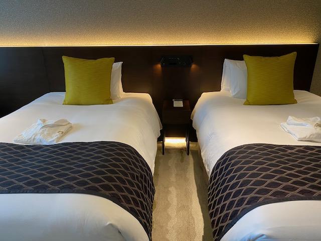 ゲートホテル東京 ベッド