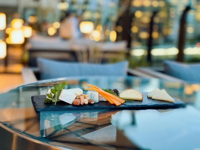 ゲートホテル東京 チーズの盛り合わせ
