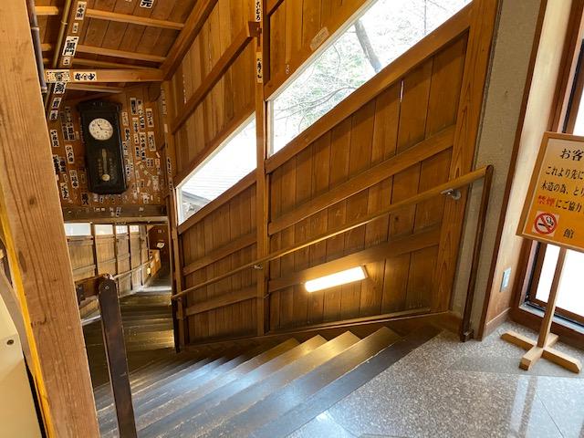 岩松旅館 八十八の階段入り口