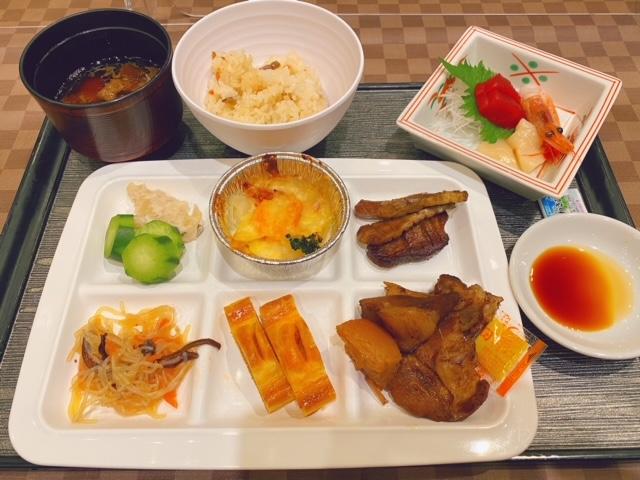岩松旅館 夕食1