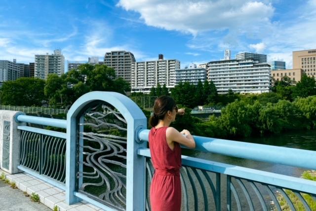 瑞鳳殿 入り口 広瀬川 橋2