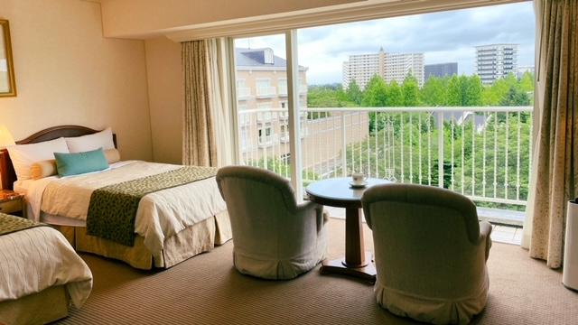 仙台ロイヤルパークホテル 客室ガーデンサイド