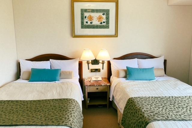仙台ロイヤルパークホテル ベッド